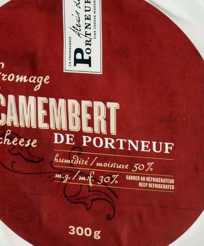 Queso Camembert de Portneuf