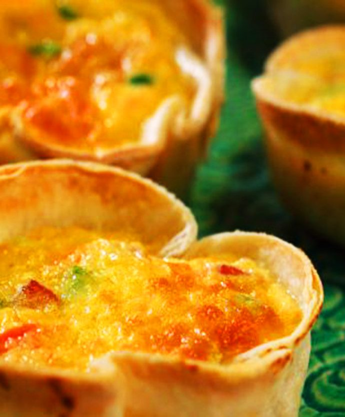 Receta: Quiche mexicano